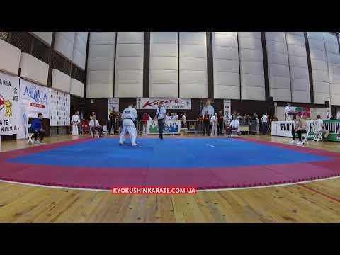 -70, 1/8 Kirill Psarev (Russia) - Carmelo Muccolino (Italy, aka)  - The 32nd European Championship