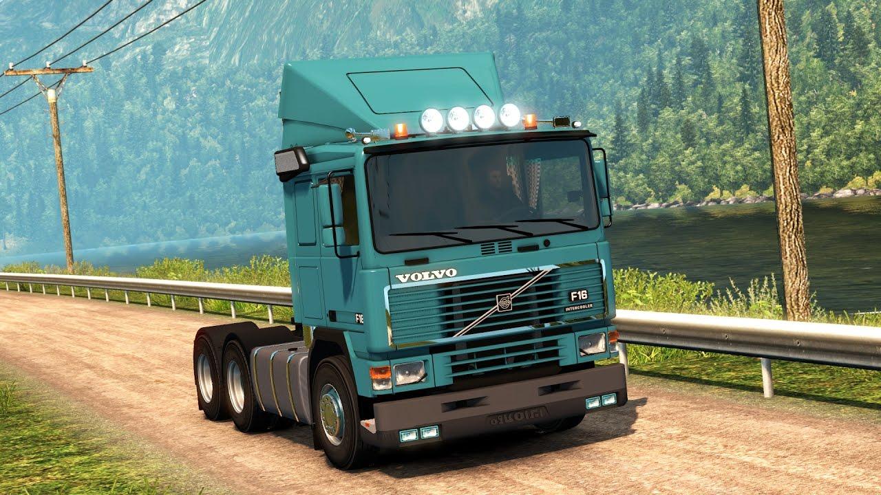 Euro Truck Simulator 2  Volvo F12,F16  Test Drive
