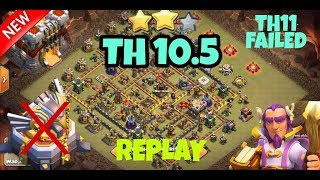 NEW TH10.5 (TH11 No Eagle Artillery) War Base 2018 ! TH10.5 Anti 3 Star ! ANTI EVERYTHING ! COC