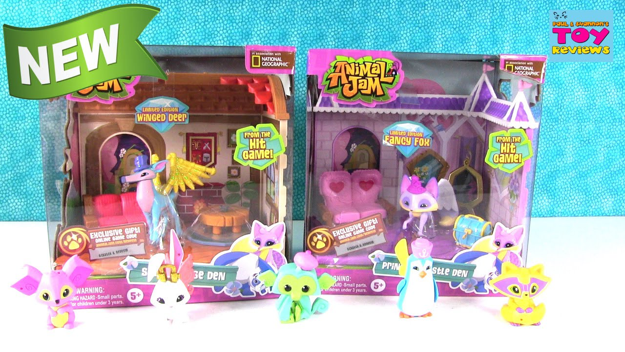 Animal Jam New Princess Castle Den Small House Den Playsets