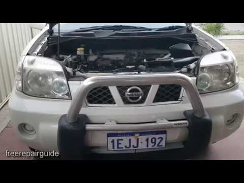 nissan xtrail 2007 how to change transmission oil t31 youtube rh youtube com nissan x trail automatic transmission fluid nissan x trail automatic transmission oil capacity