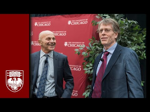 Celebrating Two Nobels at the University of Chicago