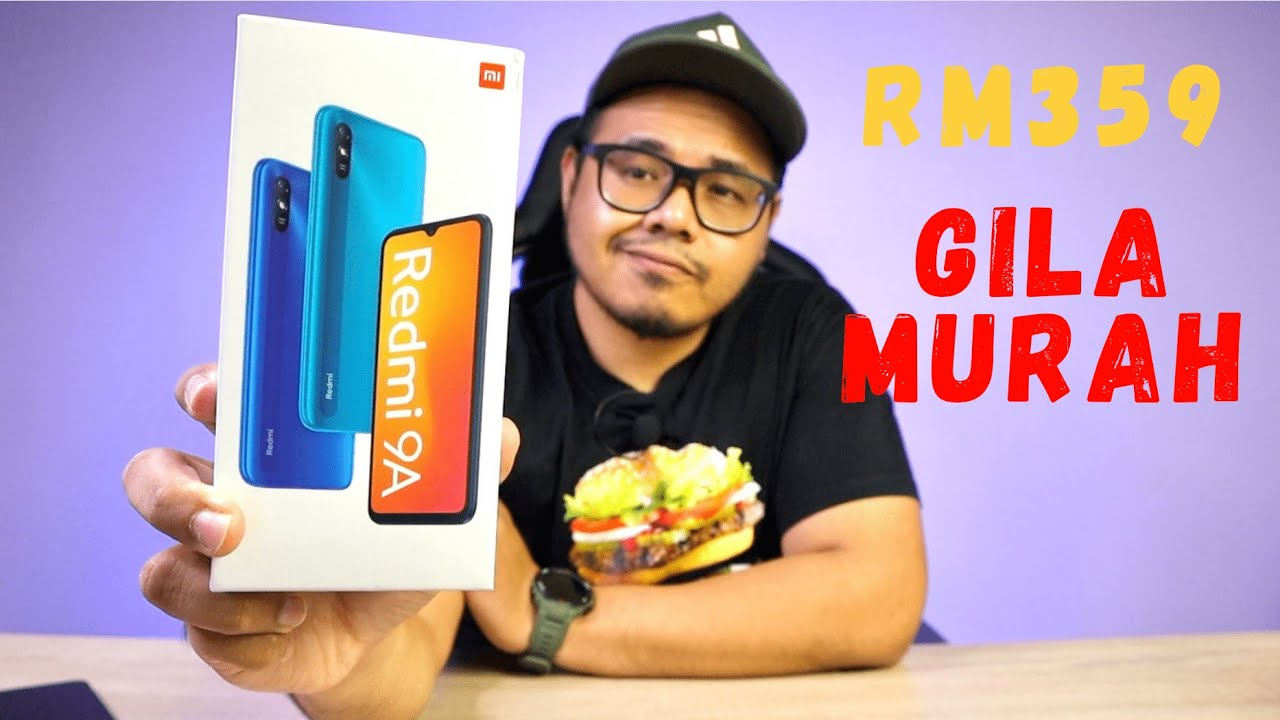 RM359 MAMPU MILIK KAW KAW - REDMI 9A [UNBOXING & HANDS ON]