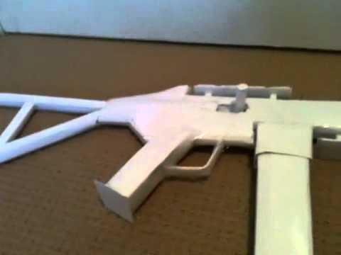 Paper minigun/death machine (10% chance of tutorial) also read.