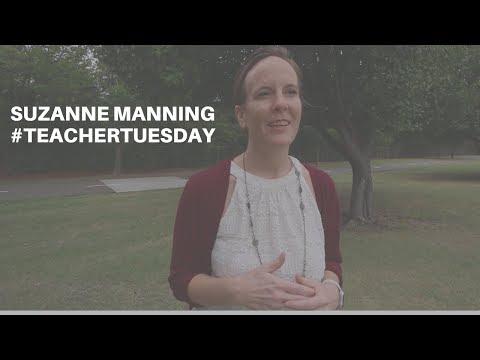 #TeacherTuesday   Suzanne Manning