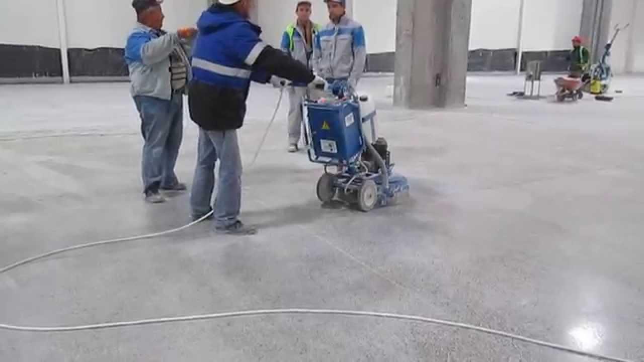 Шлифованный бетон пол экспертиза бетона москва цена