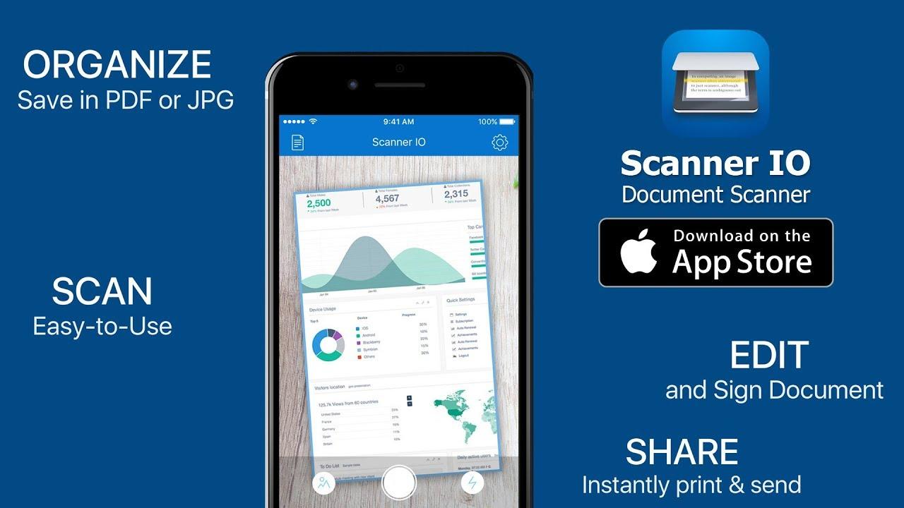 Scanner App Ipad
