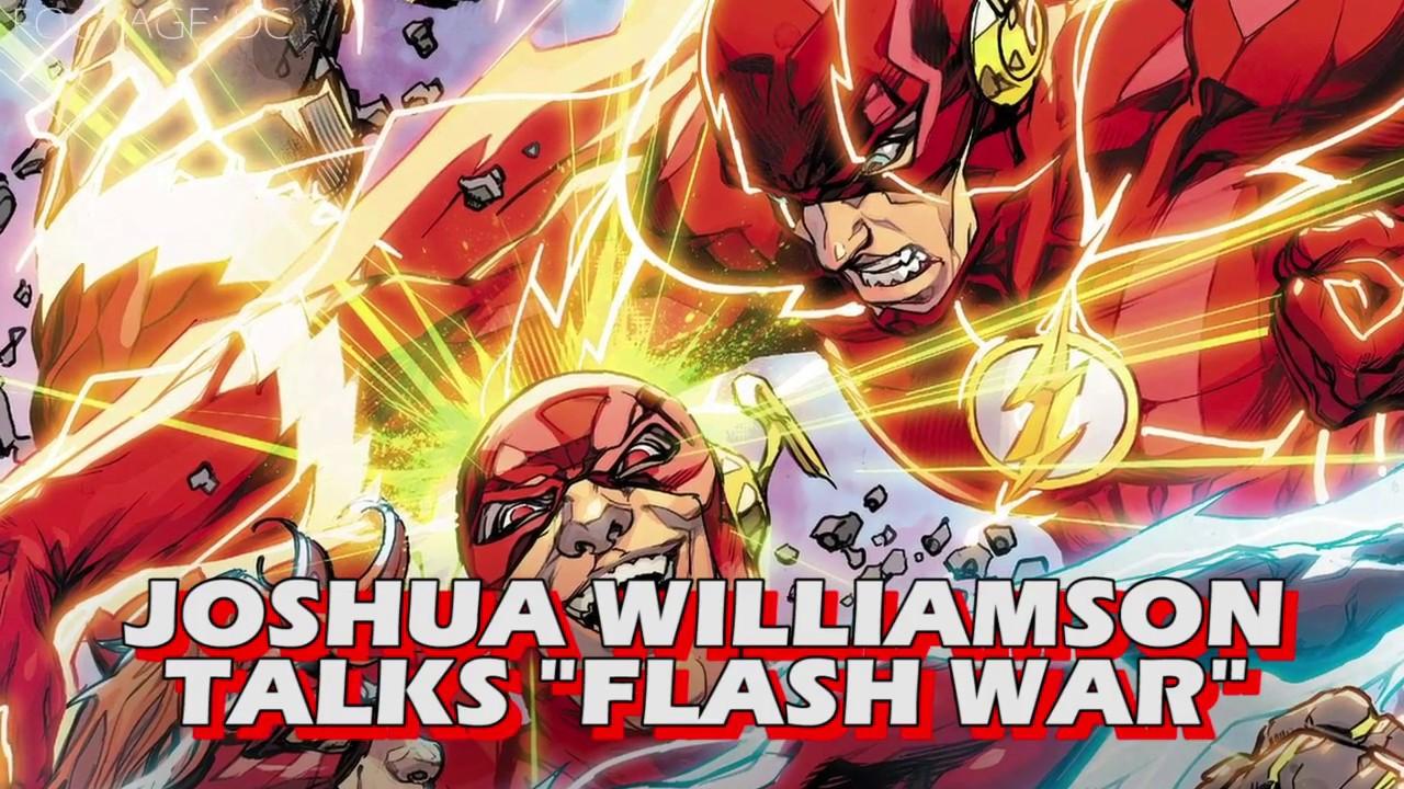 df1d3f487c6 Joshua Williamson Talks The Future of The Flash - YouTube