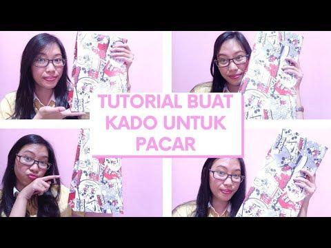 DIY Paper Bag dari Kertas Kado untuk Anniversary/Ultah Untuk Pacar/Suami/Istri