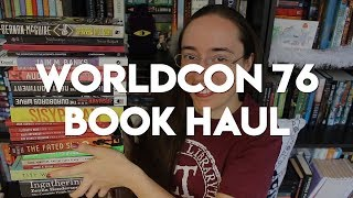 #WorldCon76 Book Haul!