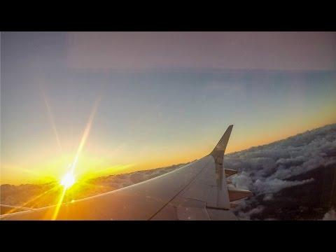 Airplane Travel - Porto Alegre to São Paulo - Brazil