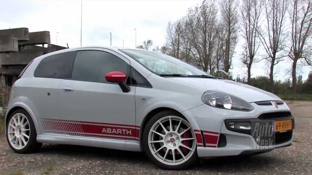 rij impressie abarth punto evo esseesse english subtitled. Black Bedroom Furniture Sets. Home Design Ideas