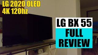 LG BX 55 Full Review | LG 2020 Budget OLED 4K 120hz Gaming TV