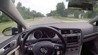 2017 VW Golf SportWagen 1.8TSI S 4Motion - POV Test Drive & Review (Binaural Audio)