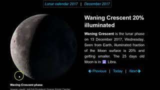 Meteor Shower December 2017