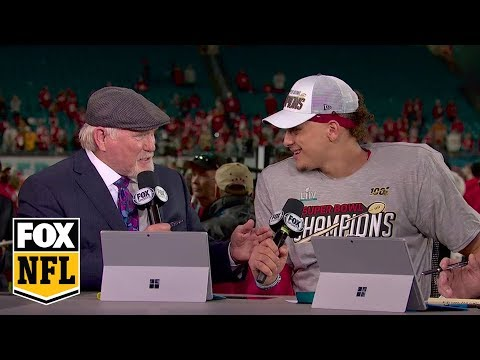 Super Bowl MVP Patrick Mahomes Joins NFL On FOX Crew After Leading Chiefs To A Title | FOX NFL