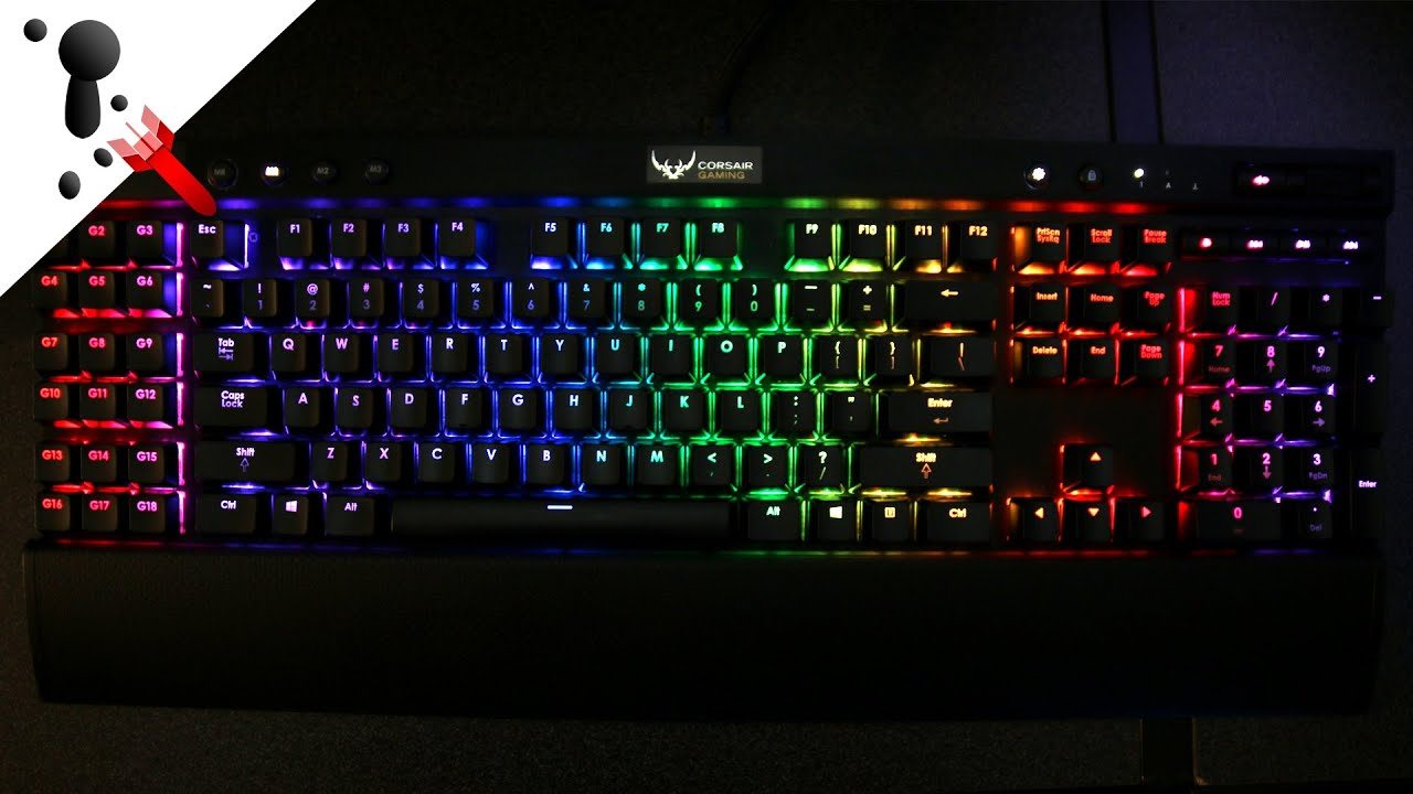 Corsair K95 K70 K65 RGB Lights stay on after shut down Bug Fix