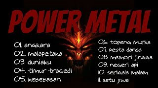 lagu power metal terbaik - lagu rock metal indonesia