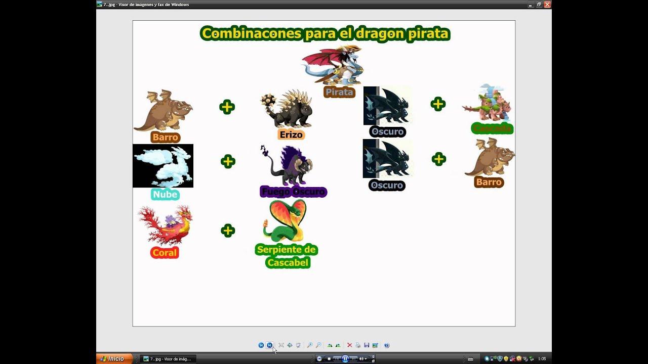 Combinaciones Dragon City:Chicle,Futbolista,Fuego Fresquito,Armadillo