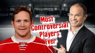 Most Controversial Players In Hockey Ever