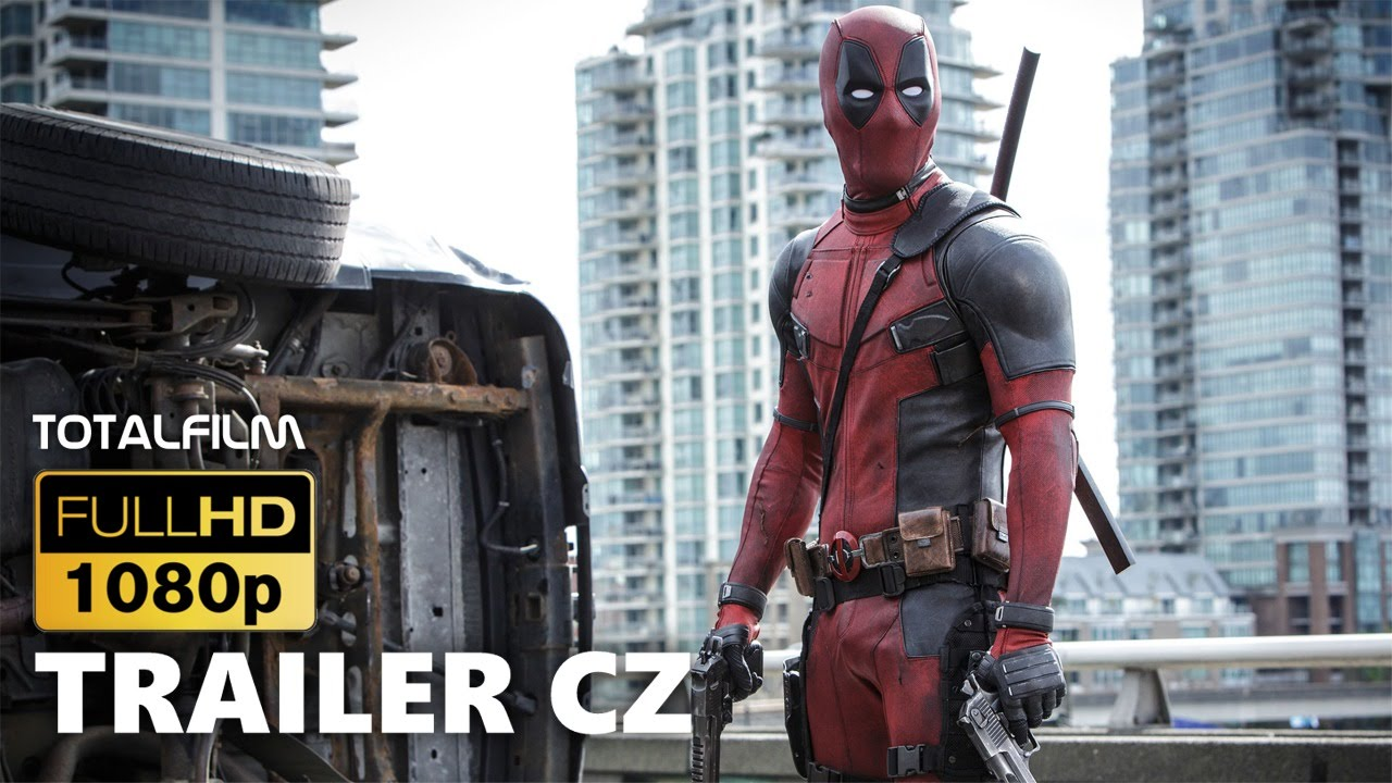 Deadpool (2016) CZ HD trailer č. 1