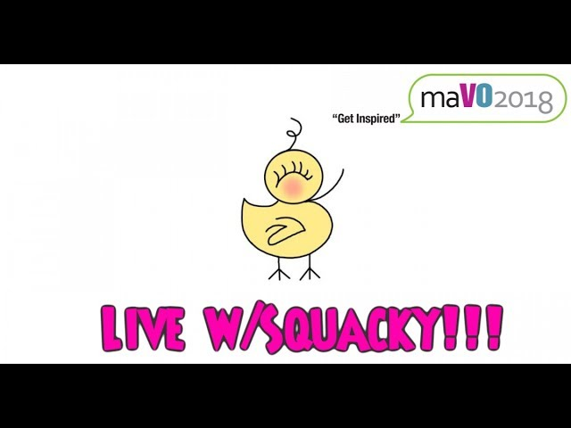 """Live With Squacky"" Featuring Special Guest Tom Dheere"