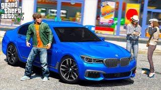 РЕАЛЬНАЯ ЖИЗНЬ В GTA 5   КУПИЛ ПОДЕРЖАННУЮ BMW M760i ДРИФТ НА БАРЖЕ С ПРОБЕГОМ