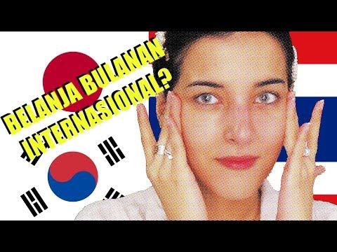 BELANJA BULANAN NYOBA MAKEUP THAILAND KOREA JEPANG 🙂 thumbnail