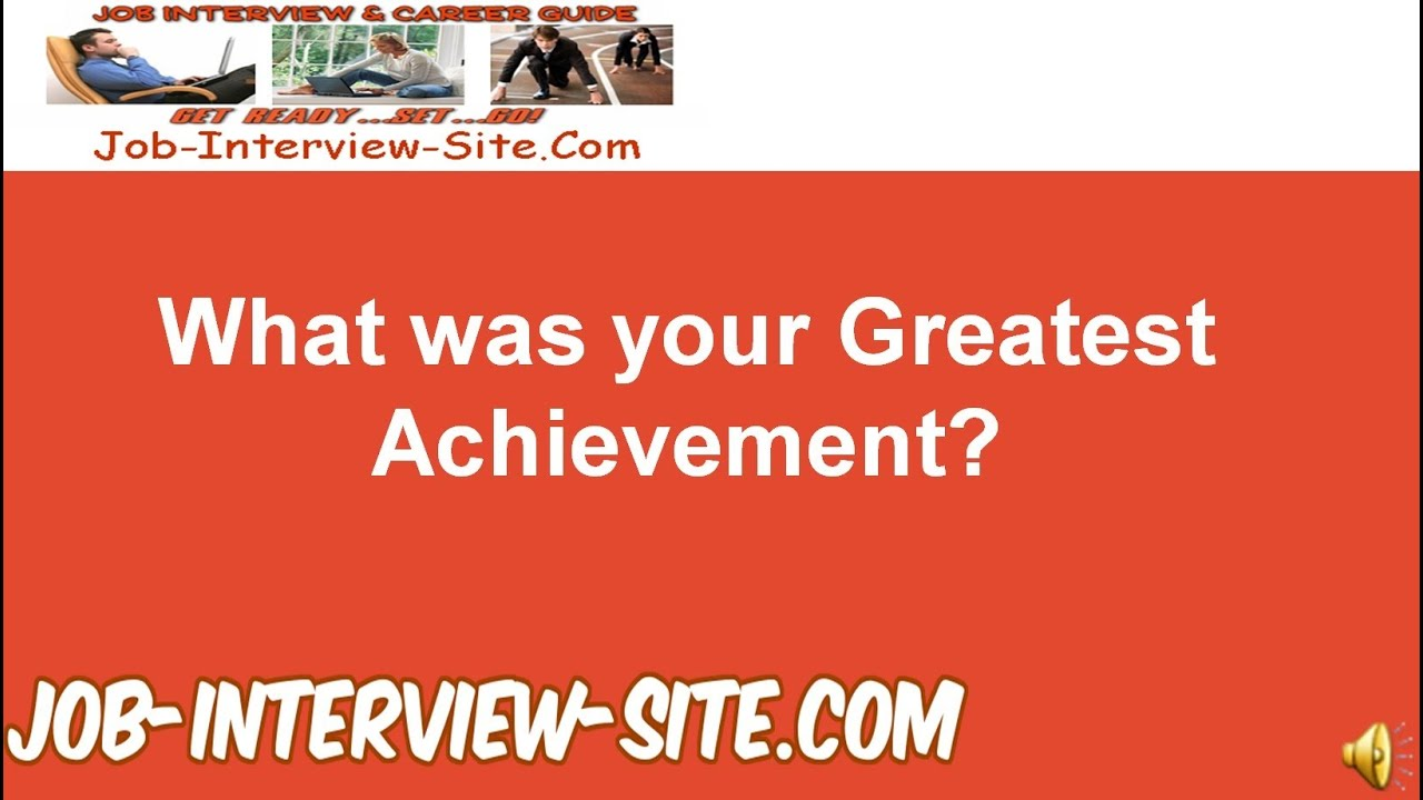 describe the best achievement that you What motivates you in life in this lesson, we will focus on achievement as the prime factor of motivation and how it influences some to set and.