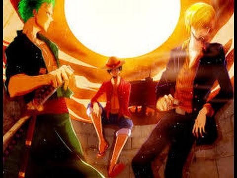 one piece amv the monster trio new world youtube