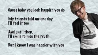 Ed Sheeran Happier Lyrics