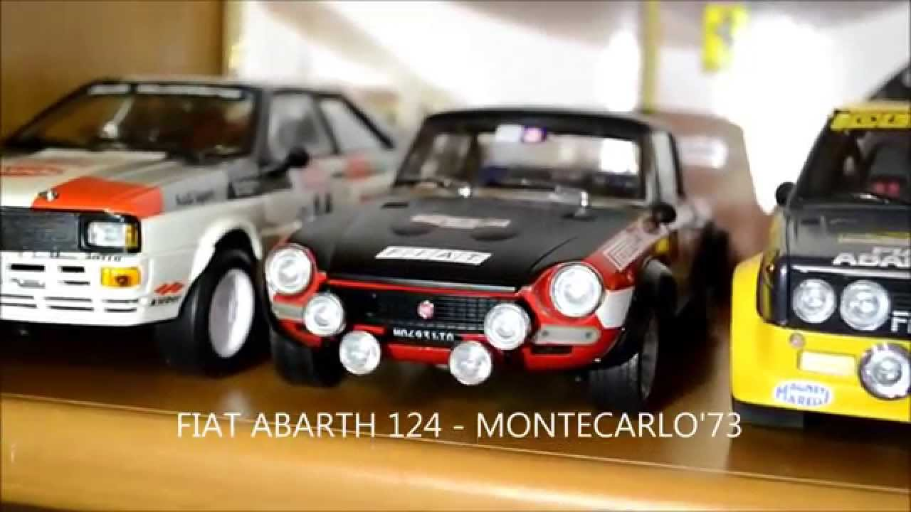 Rally Model Cars - Die Cast Collection 1:18 1/18(Lancia,Subaru ...