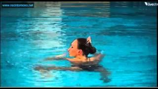 Natalia Ishchenko Solo Free Preliminary European Aquatics Championships Eindhoven 2012