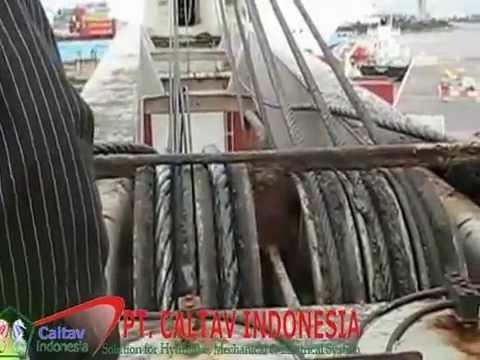 Ship crane parts, marine cranes engineers Batam by caltav.com ...