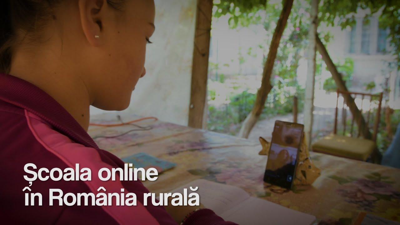Școala online în România rurală