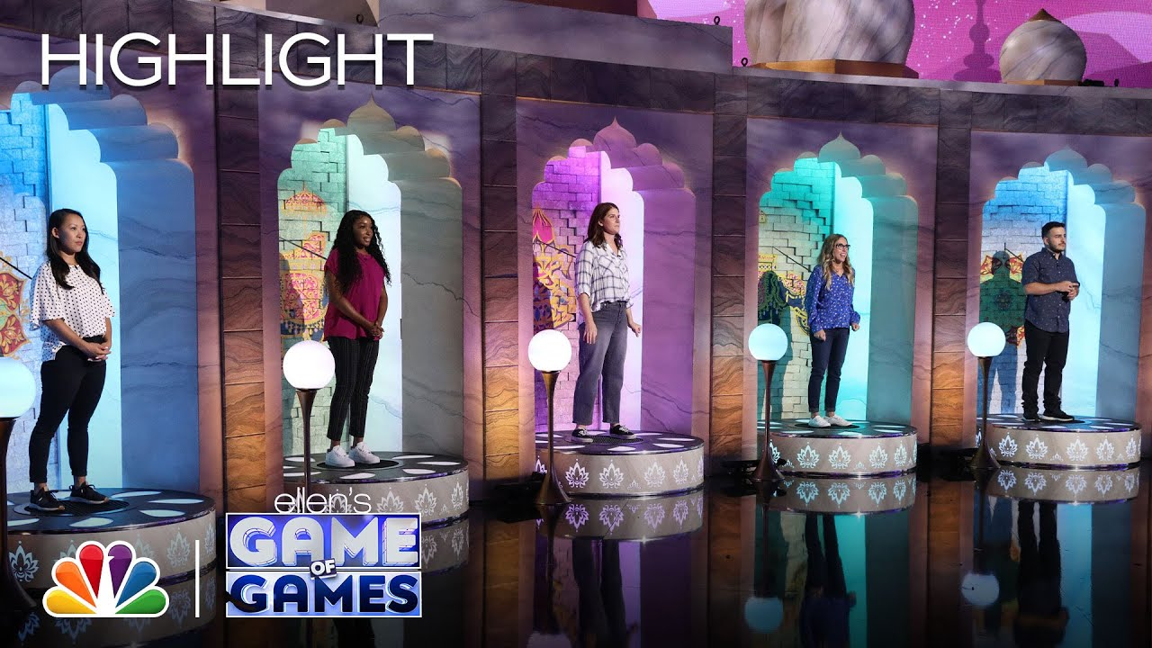 Great Taj Mah-Wall: Do You See What They See? - Ellen's Game of Games 2020