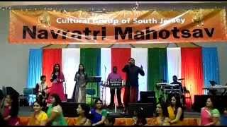 Rakesh Raj in Atlantic city Garba and dandiya+Raas with live band