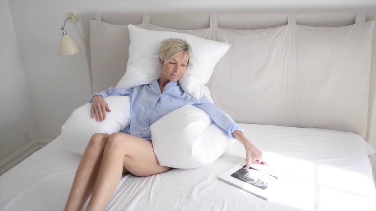 Comfort U Body Full Pillow Youtube