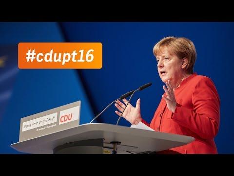 Rede der Parteivorsitzenden Angela Merkel