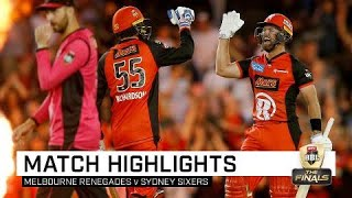 Renegades beat Sixers in a thriller | KFC BBL|08