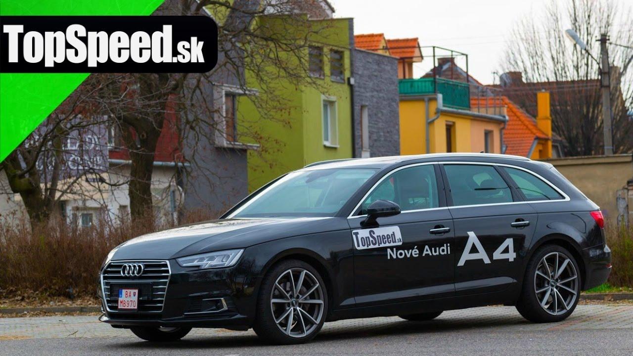 Test Audi A4 Avant 20 Tdi Dsg B9 Topspeedsk Topspeed Sk