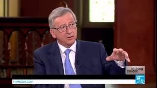 Debate between Jean-Claude Juncker and Martin Schulz on FRANCE 24