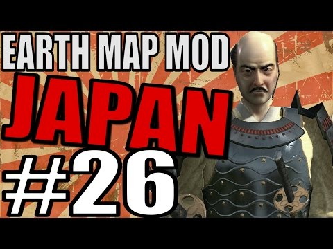 Civilization 5 Gameplay: Japan Part 26 - Giant Earth Mod [TSL] - Dropping Daegu!