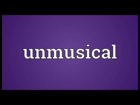 Header of unmusical