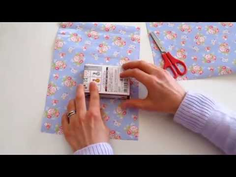 DIAGONAL WRAPPING - How to measure the paper size (roughly)