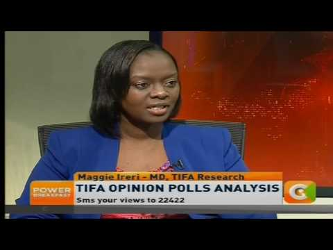 Power Breakfast:  TIFA opinion poll analysis