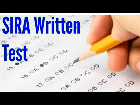 How to pass SIRA written test ||Security Guard test in dubai