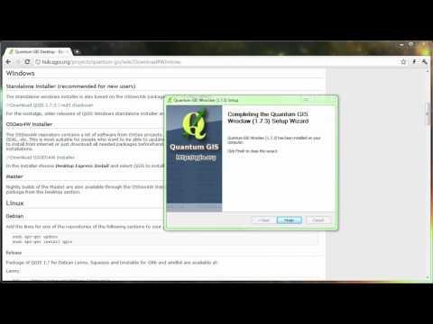 QGIS for Educators: Downloading and installing QGIS