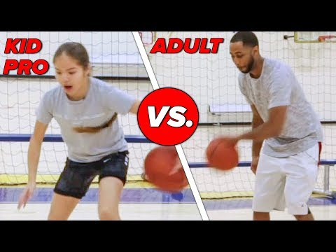 Kid Basketball Pro Vs. Adults: Horse