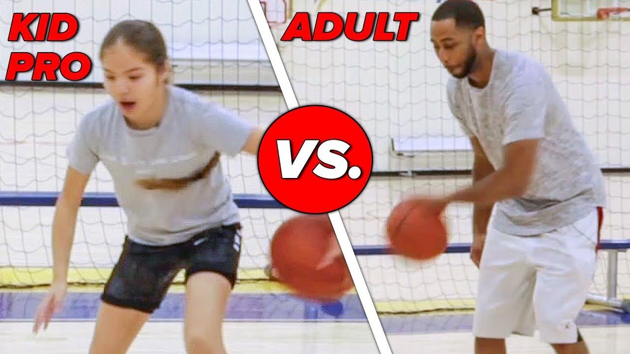 Kid Basketball Pro Vs. Adults: Horse